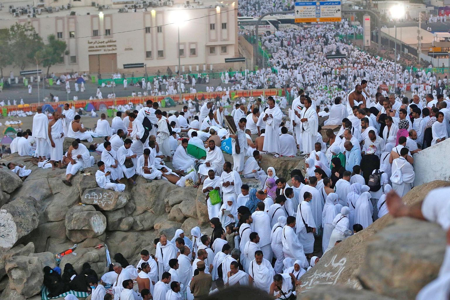 Perhimpunan terbesar manusia wukuf di Arafah