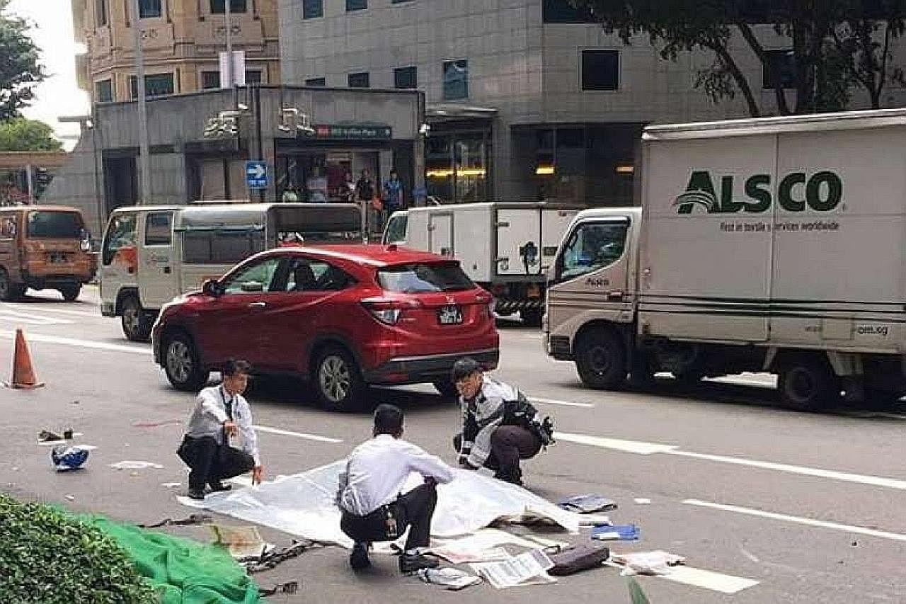 Lelaki tua maut selepas basikal elektriknya tembung dengan trak