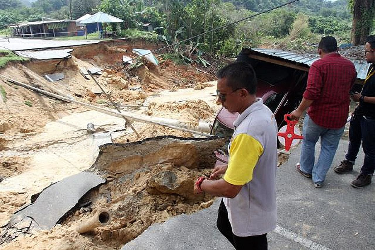 340 penduduk diarah tinggalkan rumah ekoran tanah runtuh di Selangor