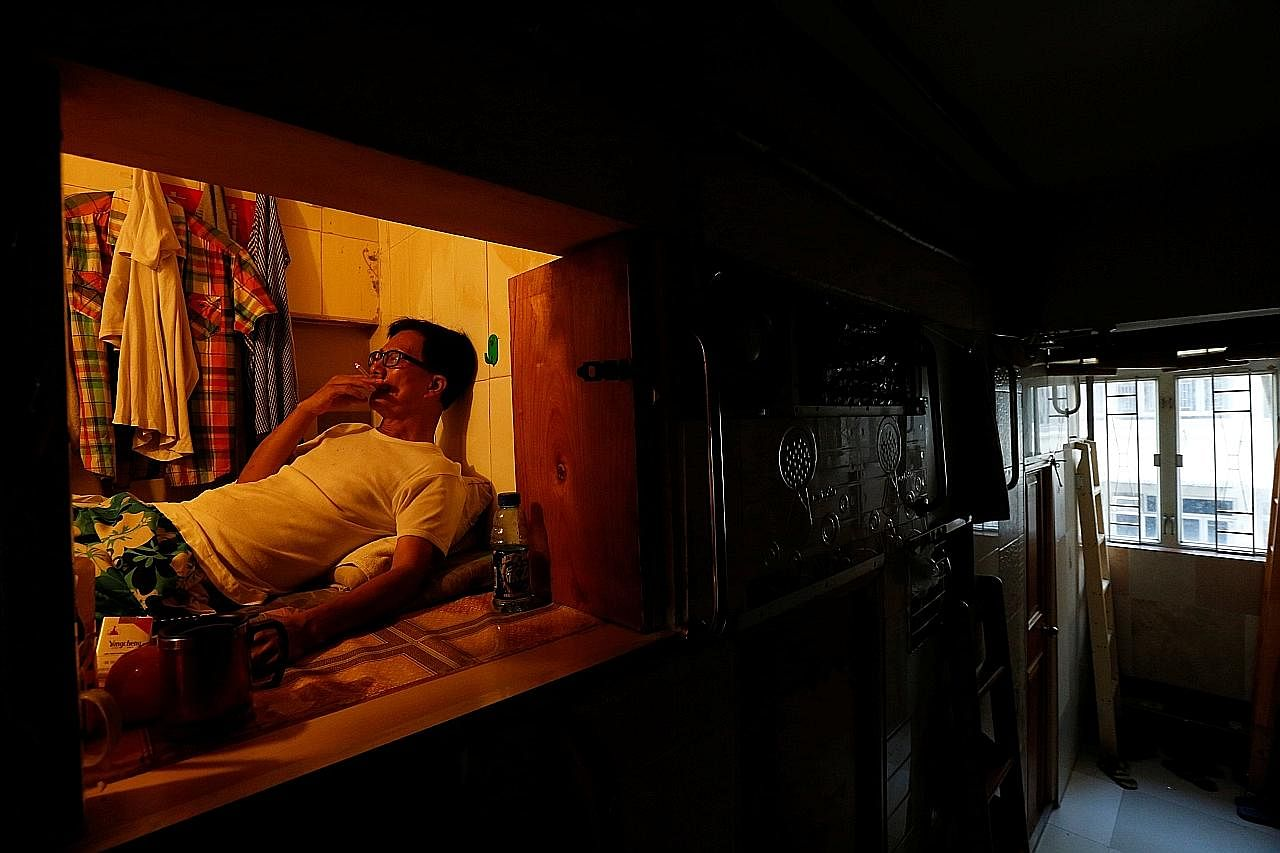 Lebih ramai penduduk Hongkong sewa 'rumah keranda'