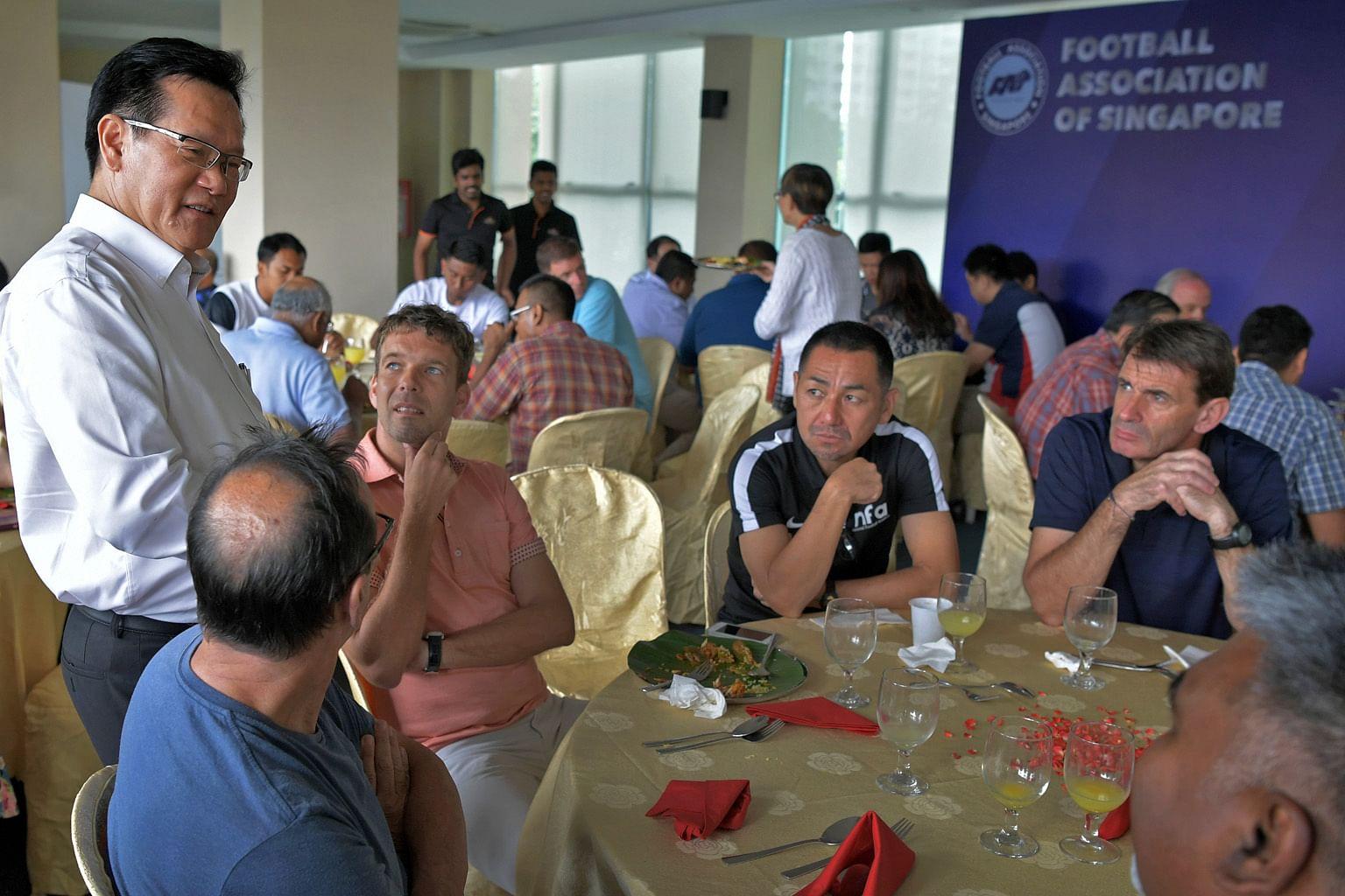 Majlis baru FAS adakan mesyuarat sulung, legakan kakitangan