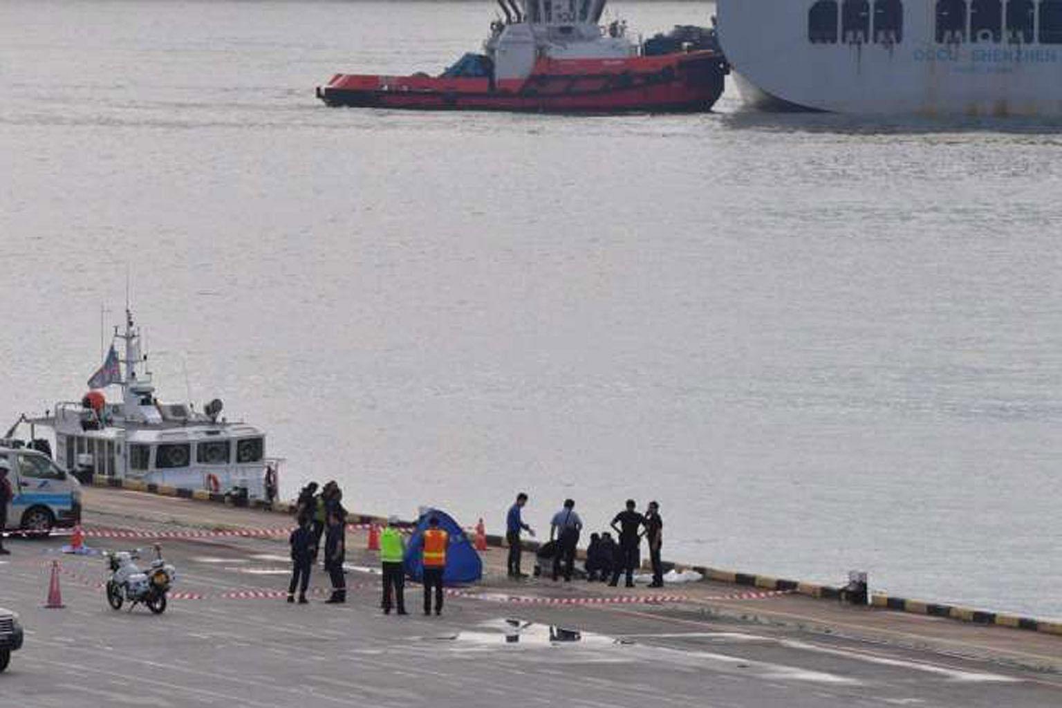 Lelaki 29 tahun ditemui mati di perairan Keppel Terminal