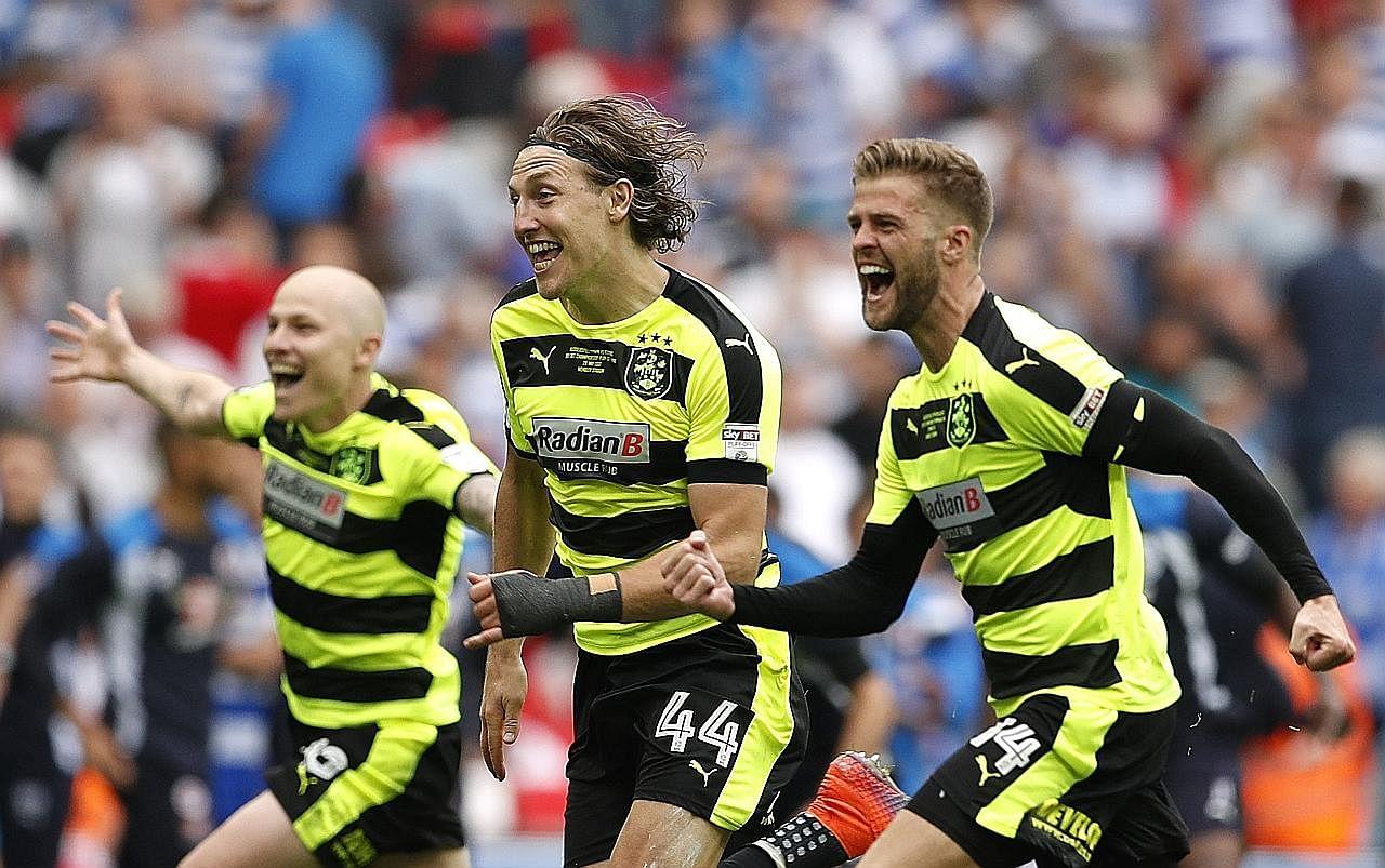 Huddersfield kembali sertai Liga Perdana BOLA SEPAK ENGLAND