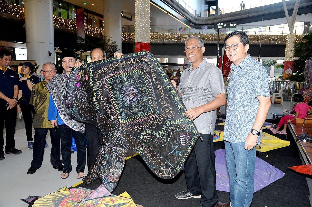 Pesta Seni Melayu Hab Tampines penuh Wau