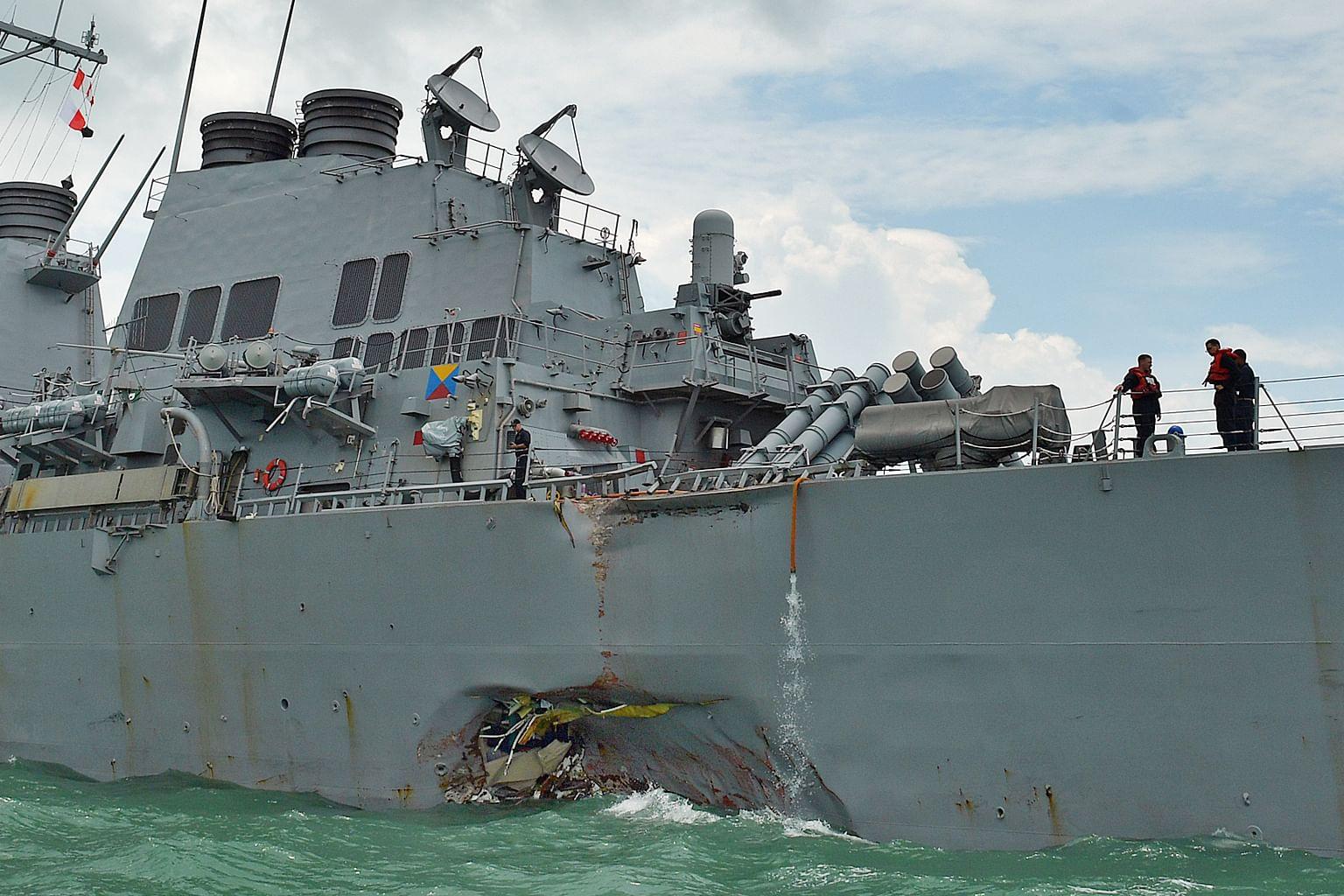 Kapal dikesan sebelum nahas, tidak dianggap timbulkan ancaman