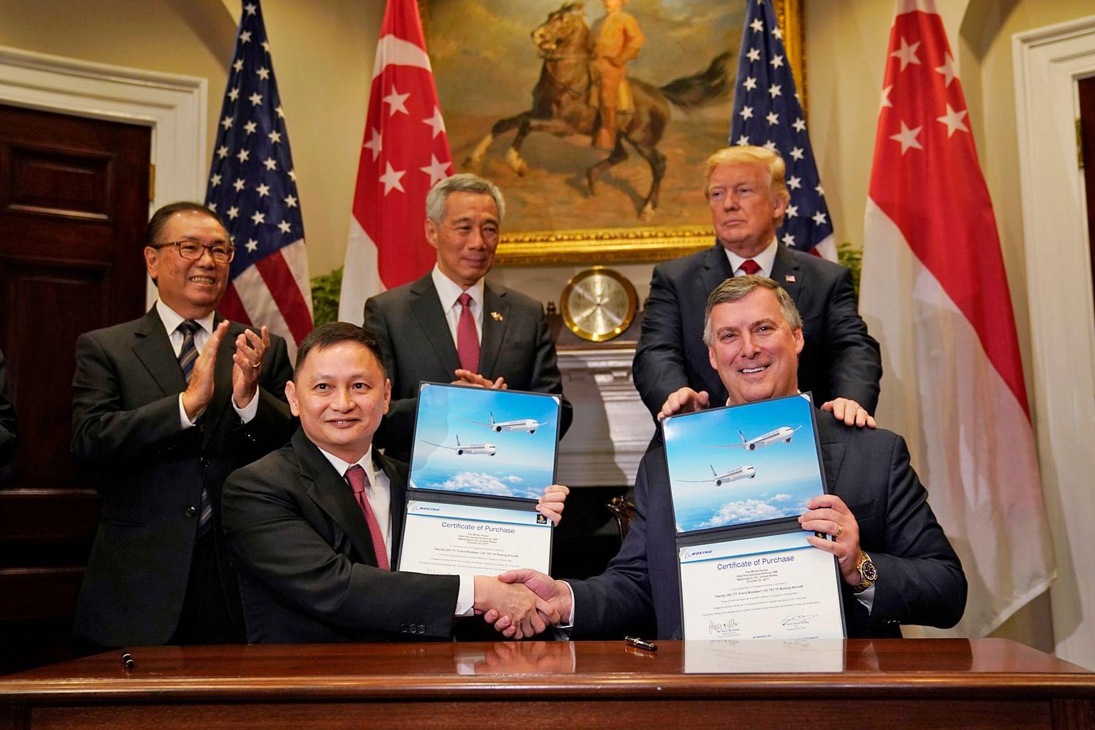 SIA meterai perjanjian beli pesawat Boeing bernilai $19 bilion