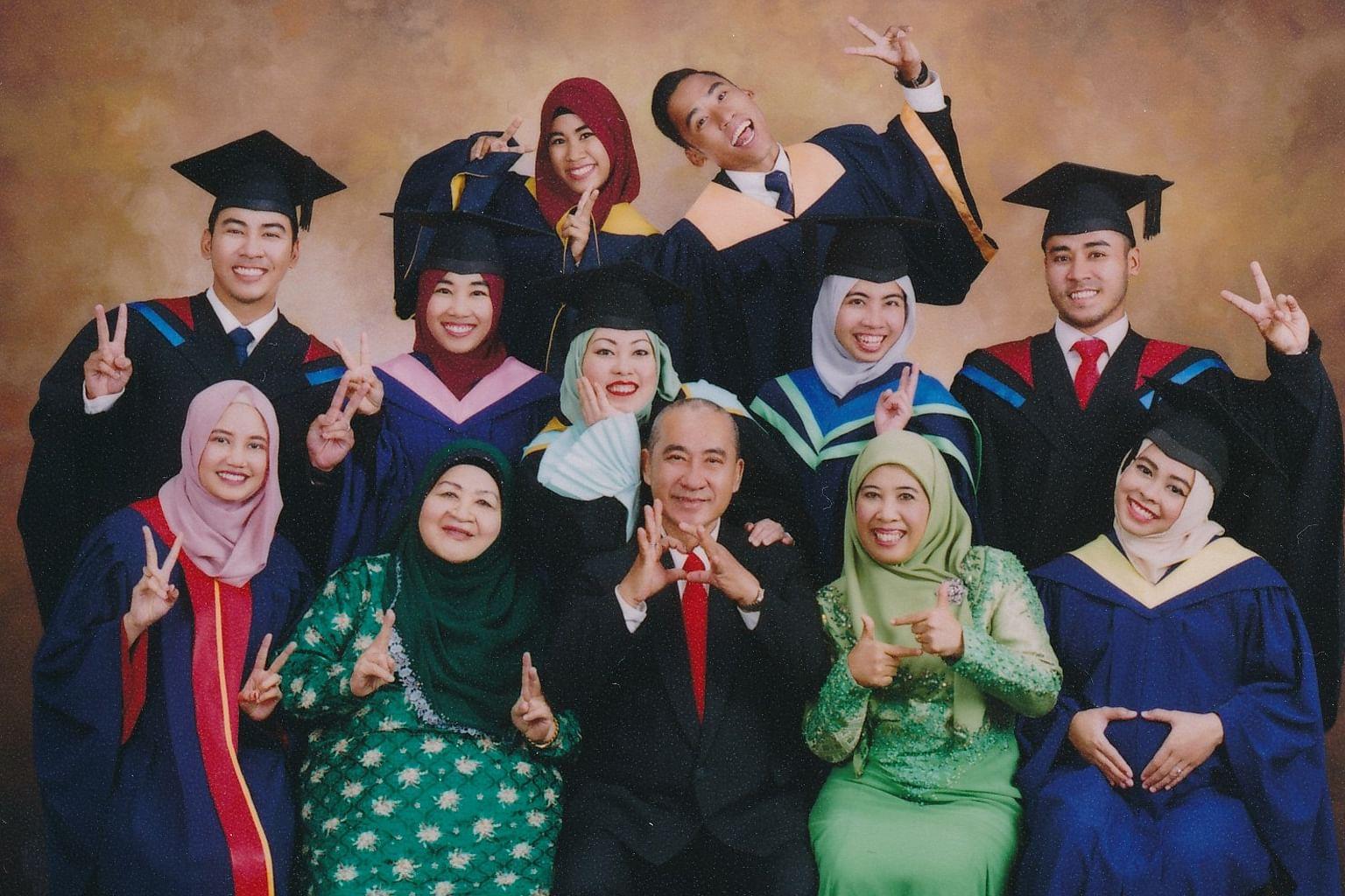 Famili cinta ilmu jadi inspirasi