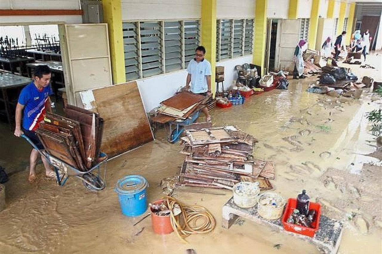 Keadaan Pulau Pinang kian pulih tapi banjir boleh berlaku lagi