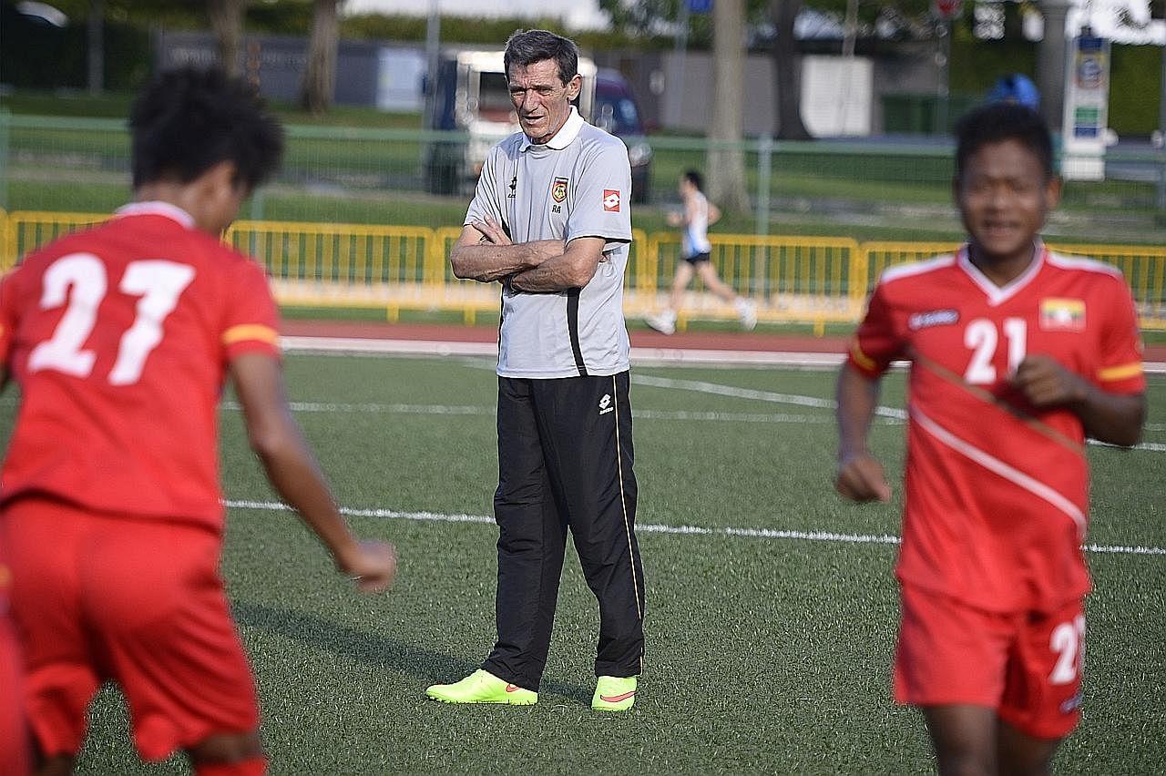 Raddy mungkin kembali semula ke bola sepak Singapura