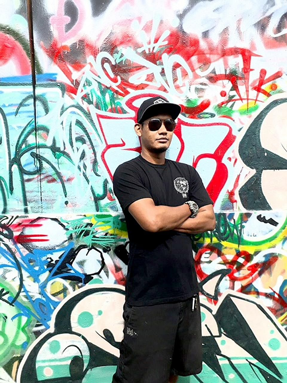 Ghairah Luah Perasaan Pada Lukisan Grafiti Di Tembok Berita Setempat Beritaharian Sg