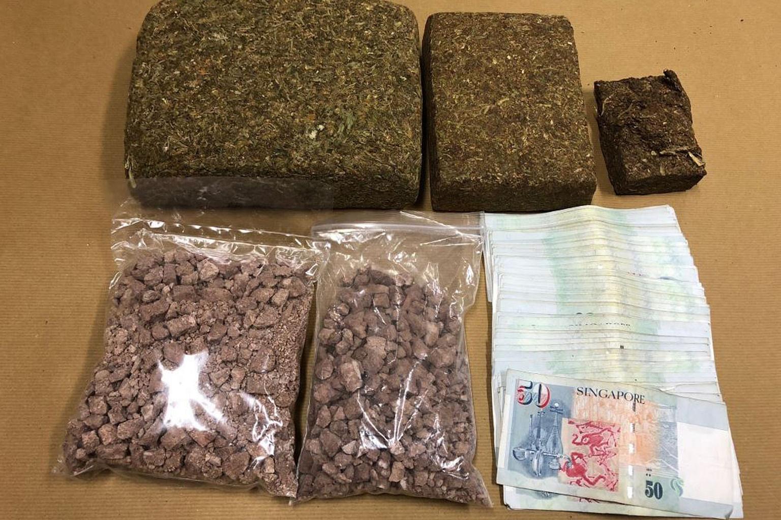 3kg dadah dirampas dalam operasi pertama CNB tahun ini