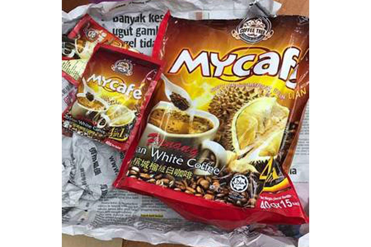 Dua lagi dimasuk hospital angkara kopi perisa durian di M'sia