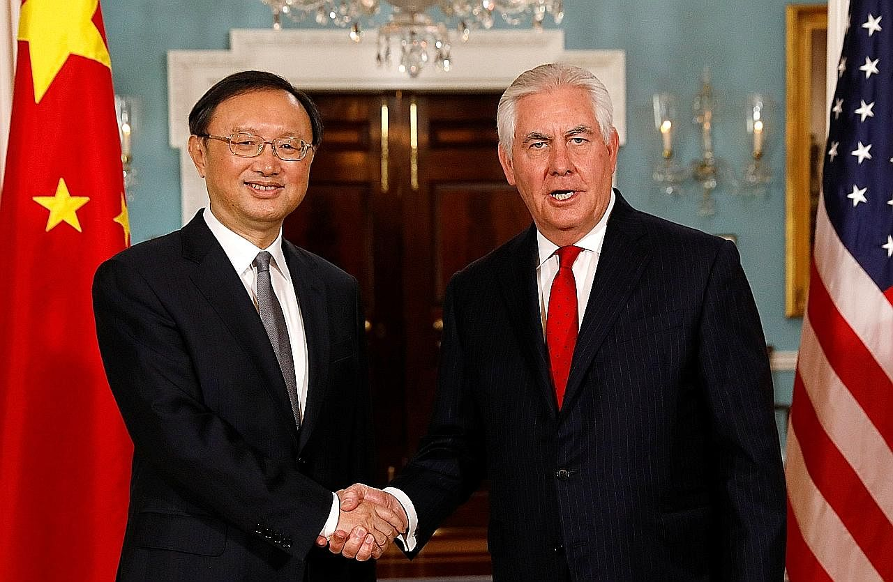 AS, China sahkan lagi komitmen kenakan tekanan ke atas Pyongyang