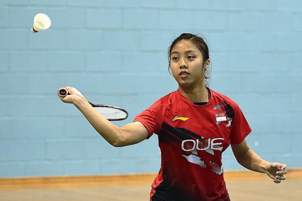 Skuad muda badminton tetap bersemangat MENJELANG SUKAN KOMANWEL