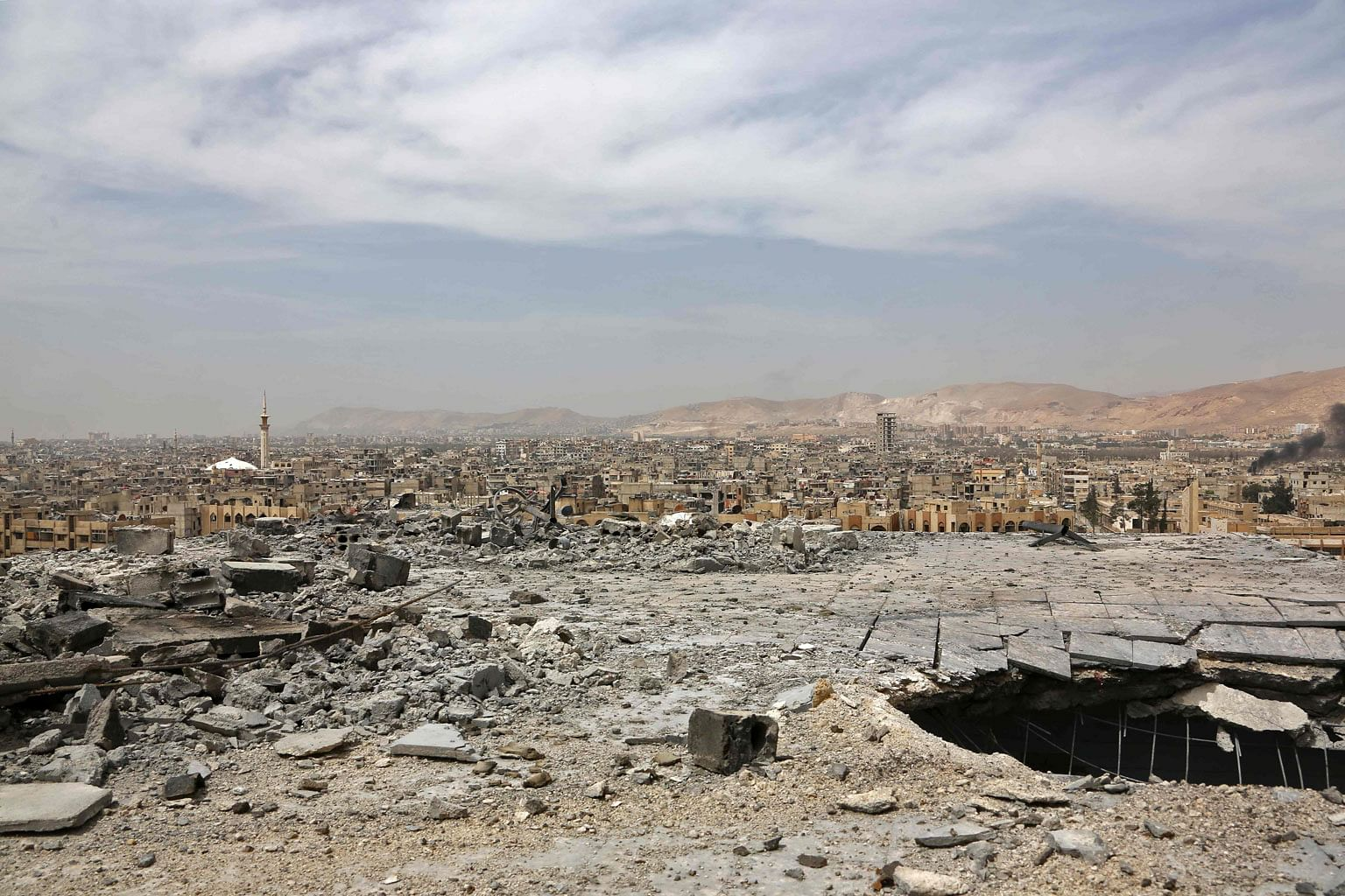 Penyiasat tangguh siasatan serangan kimia di Douma