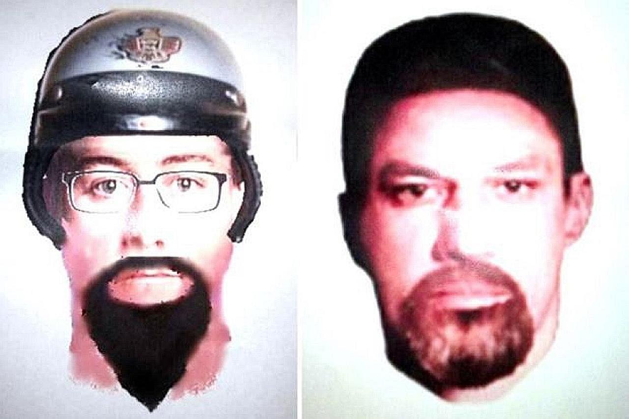 Polis M'sia edar lakaran wajah dua lelaki dipercayai bunuh rakyat Palestin di KL