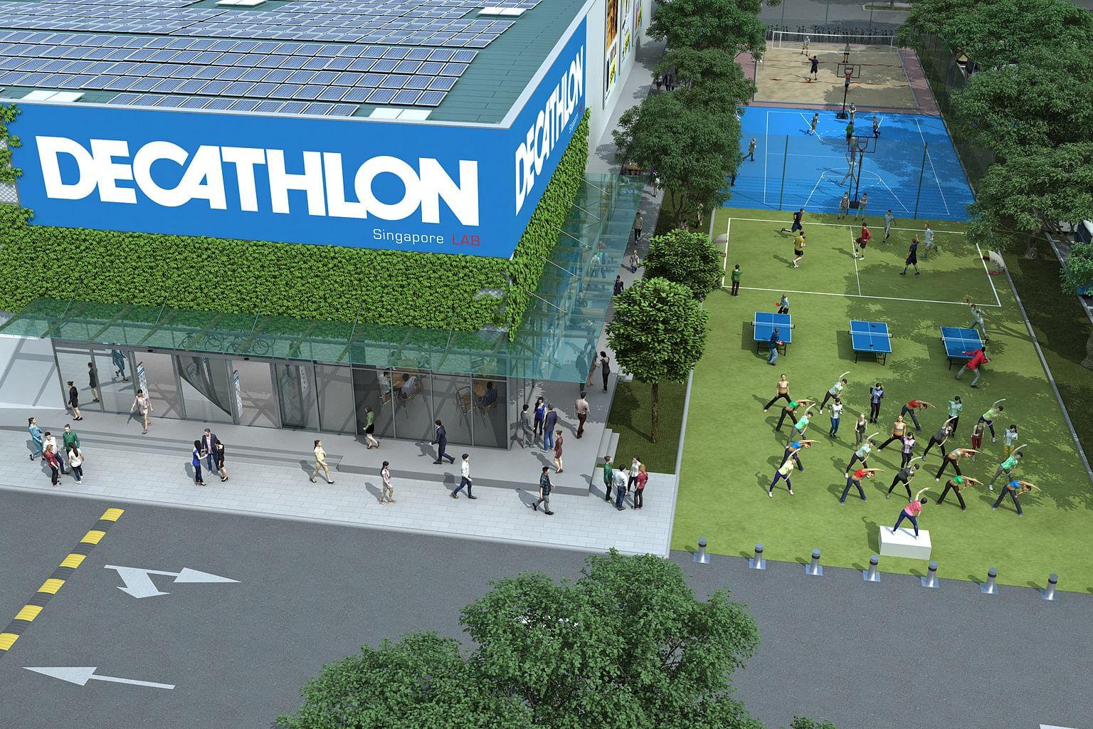 Kerjasama SportSG, Decathlon bagi promosi sukan, kesihatan