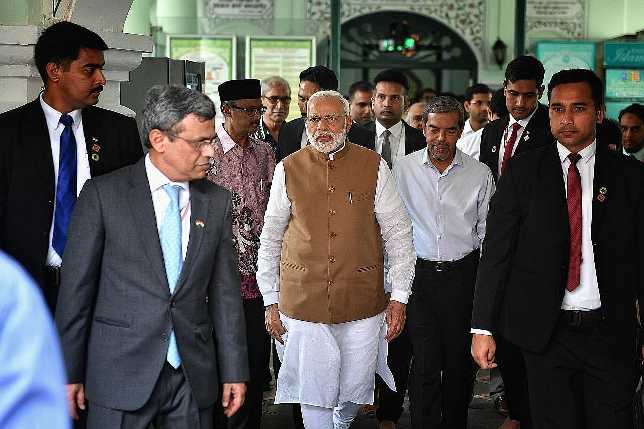 PM Modi lawat Masjid Jamae Chulia