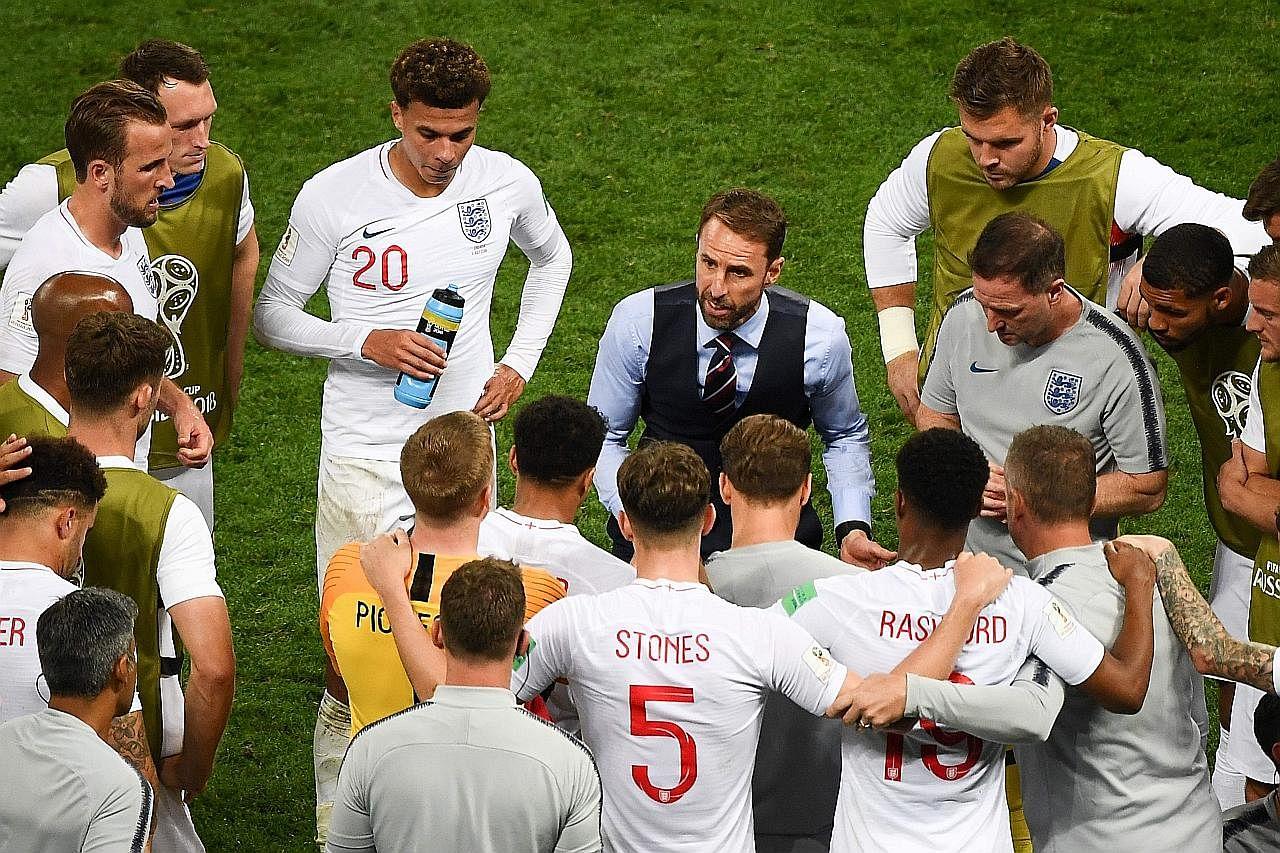 Pengurus England mahu pasukan menang