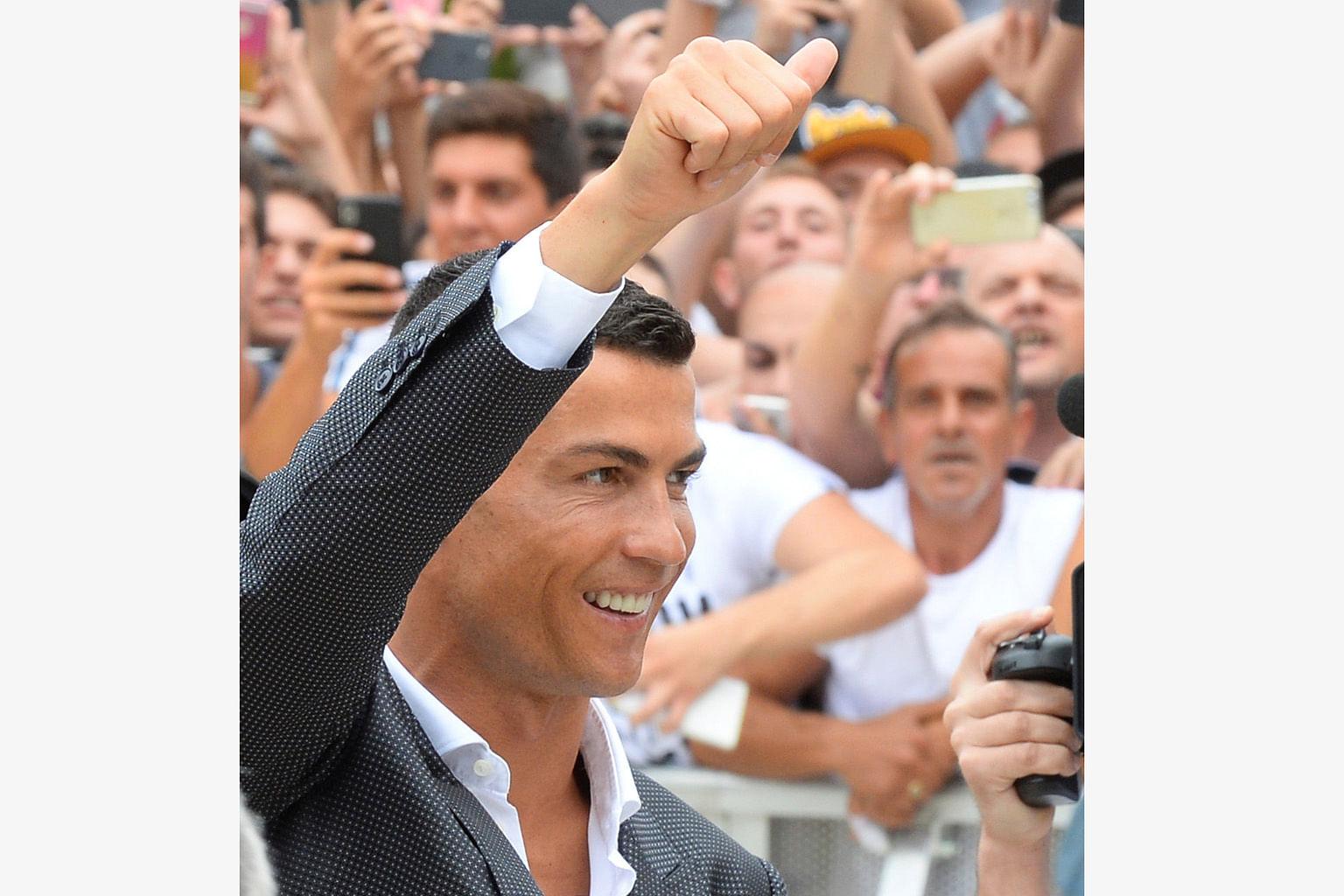 PEMINDAHAN PEMAIN BOLA SEPAK EROPAH Langkah Ronaldo ke Juventus, mendepani cabaran 'The Old Lady'