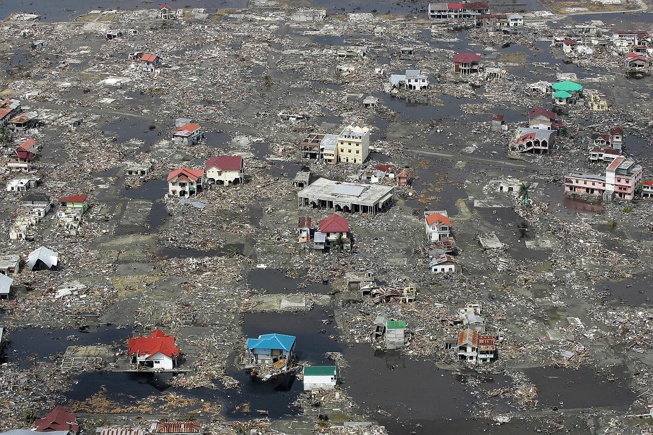 Ratusan ribu maut dek gempa di Indonesia sejak 2004