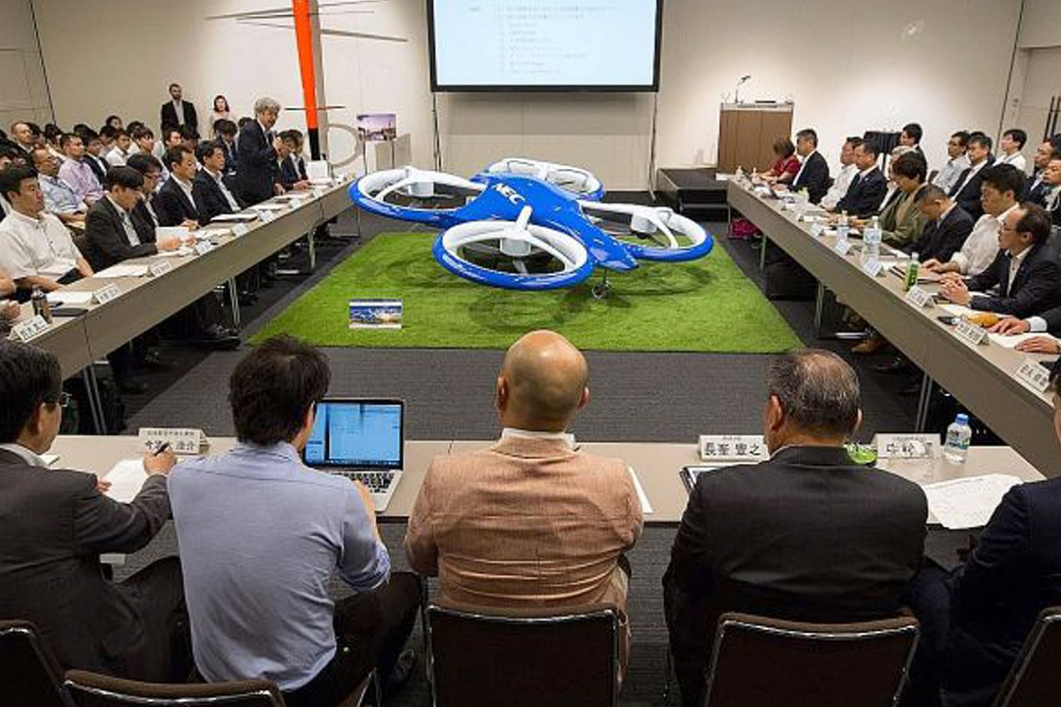 Jepun labur besar bagi realisasikan 'kereta terbang' kereta yang 'berterbangan' di udara