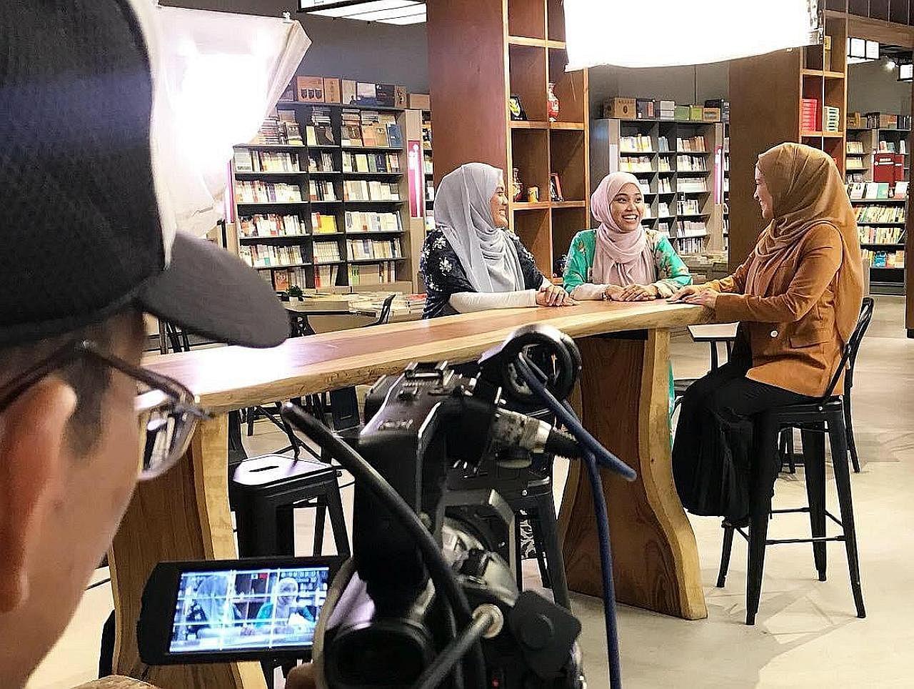 Asatizah S'pura diundang dalam program 'Astro Naura' di M'sia