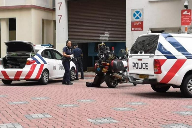 Body found in garbage chute area of Woodlands HDB block