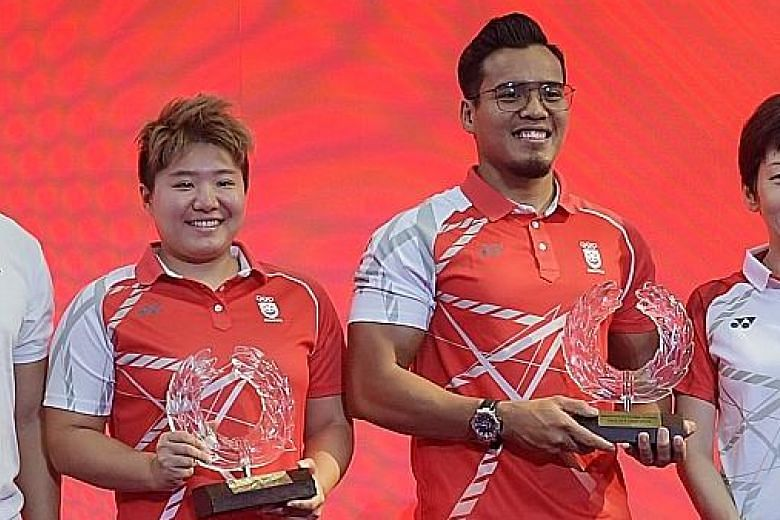 Tao Li, Shakir inducted into Sport Hall of Fame