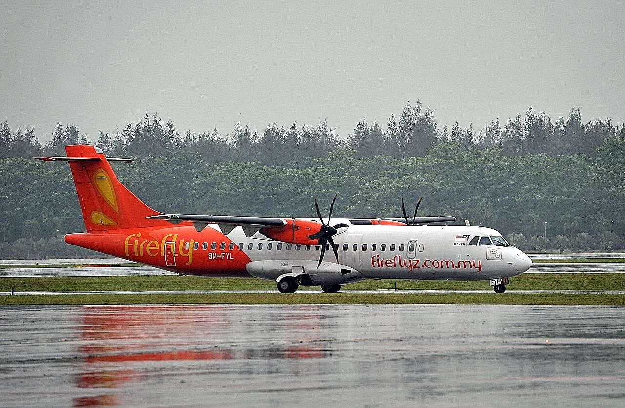 Firefly jangka kerugian RM20j sebulan ekoran penggantungan penerbangan ke S'pura