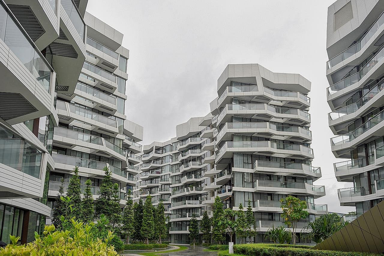 Harga apartmen, kondominium privet sudah siap naik 0.1% bulan lalu