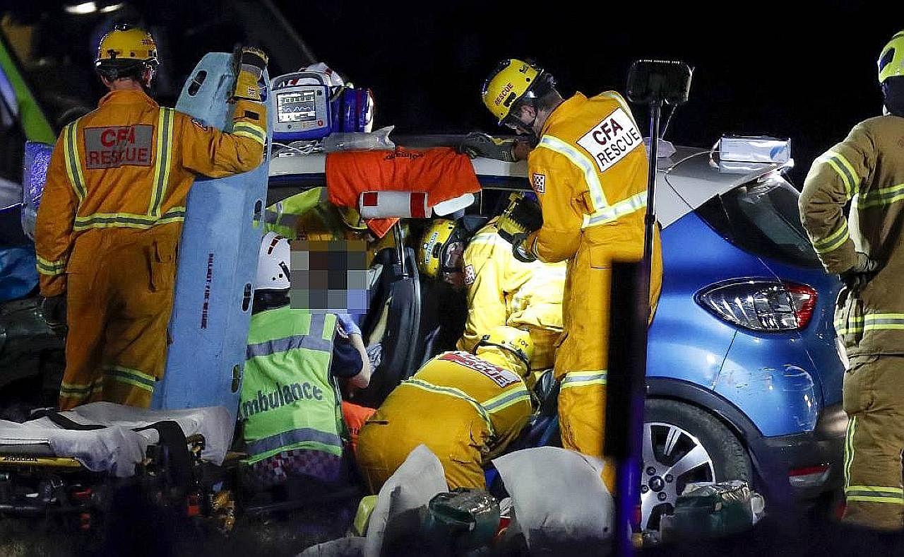Nahas di Australia: Pemandu S'pura tidak mengaku salah