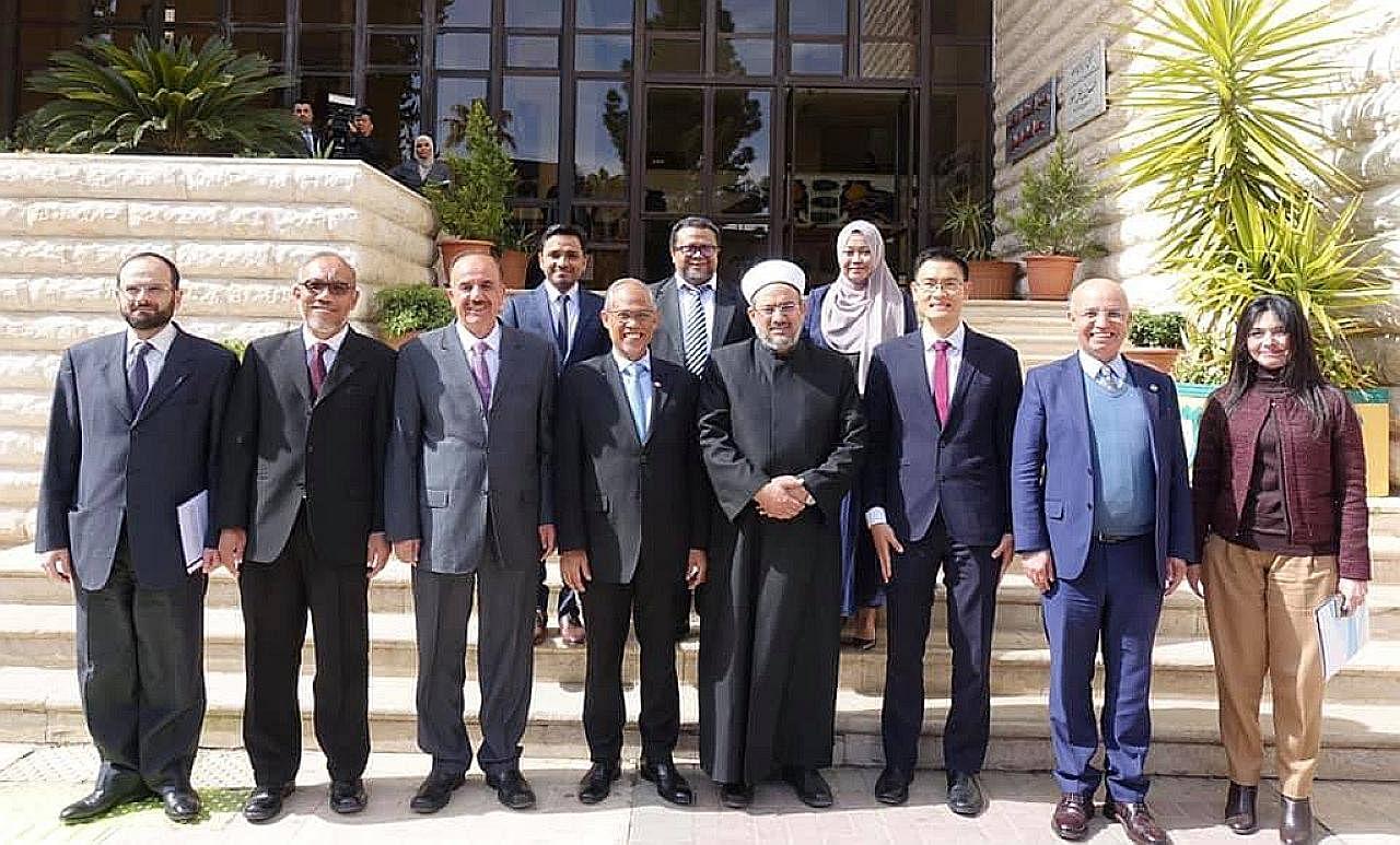 Ikatan kerjasama S'pura dengan Mesir, Jordan