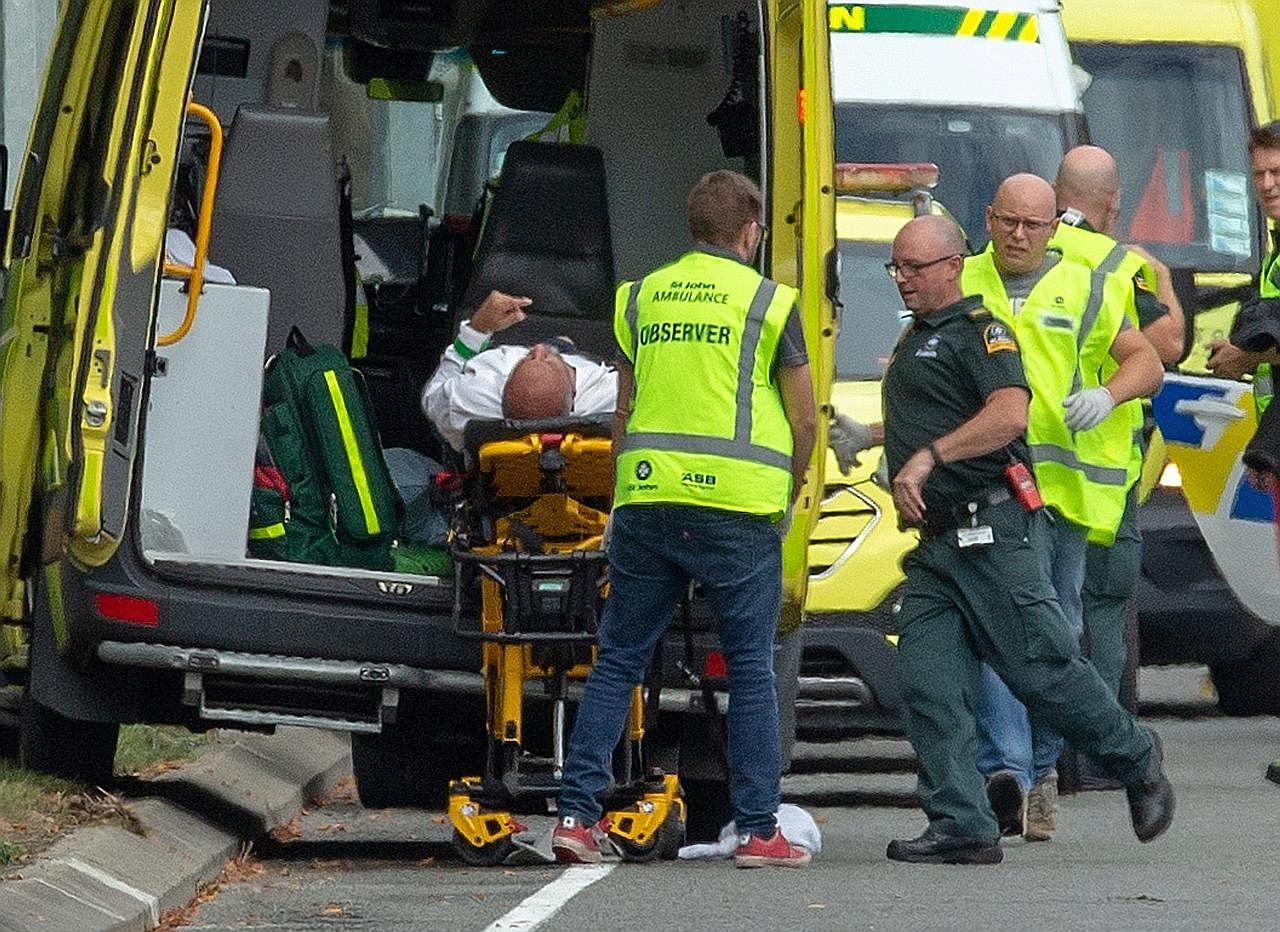Hampir 50 maut dalam serangan ganas di dua masjid di New Zealand