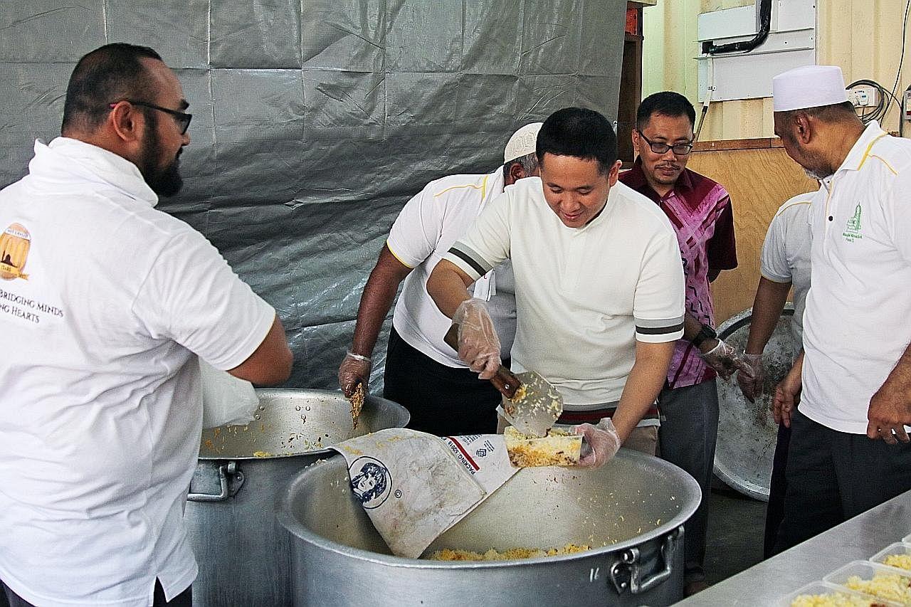 Beriani Masjid Khalid bagi sokong MCS bantu bekas penagih