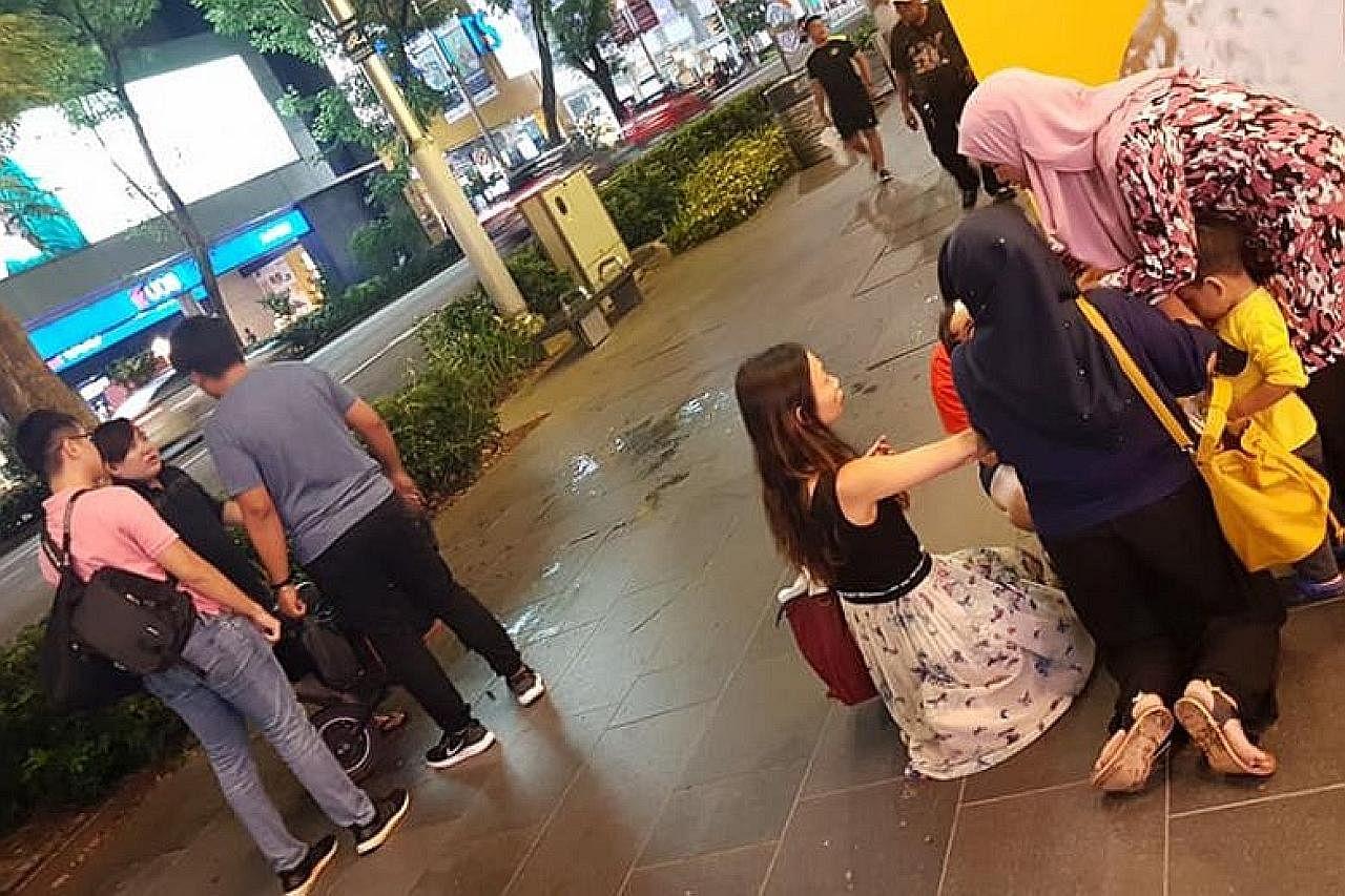 Kes penunggang skuter langgar kanak-kanak disiasat