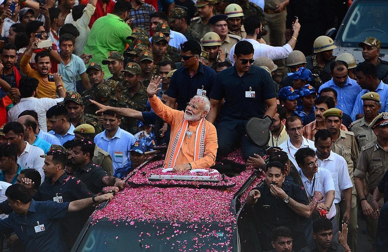 PILIHAN RAYA INDIA Modi diramal menang majoriti tipis