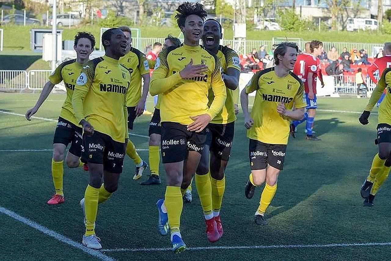 Ikhsan Fandi jaringkan gol kompetitif sulung, bawa kemenangan Raufoss IL
