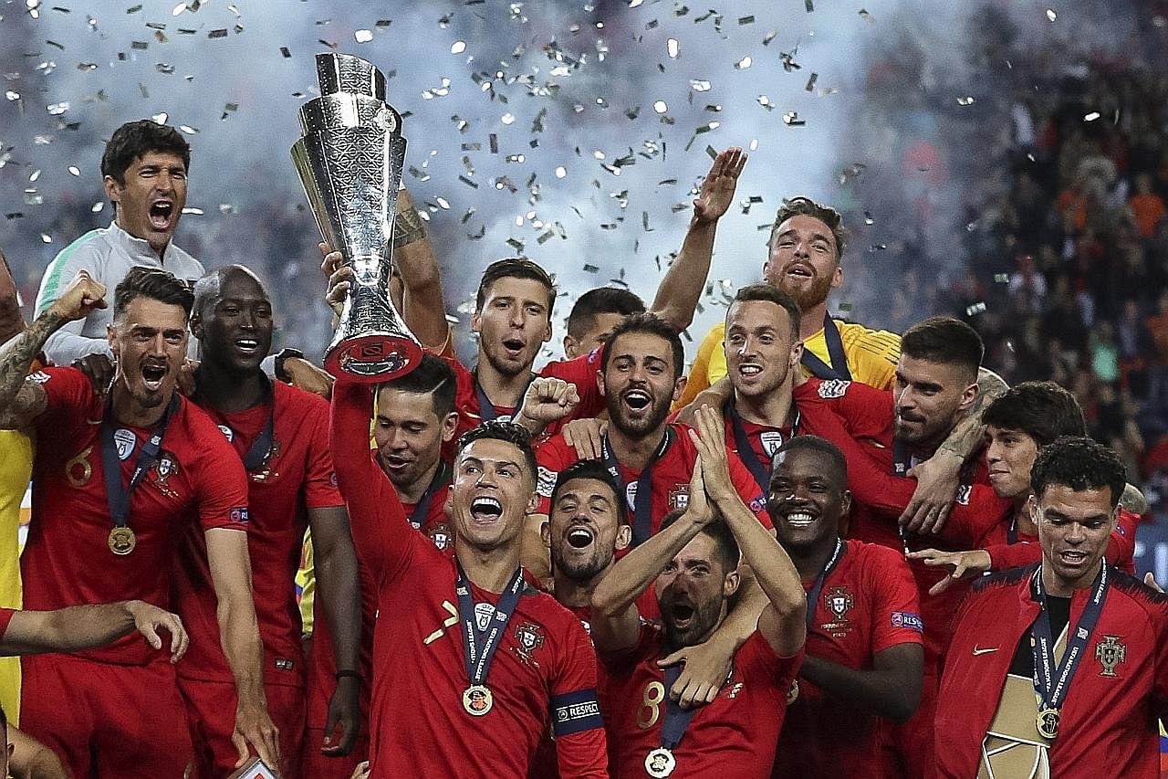Portugal kalahkan Belanda bagi julang trofi