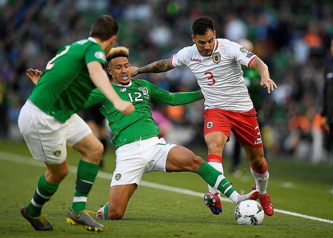 Ireland selesa di tangga teratas