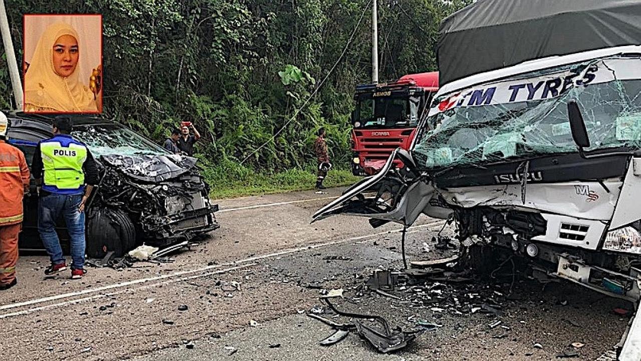 Isteri Tengku Muda Pahang cedera dalam nahas di Mersing