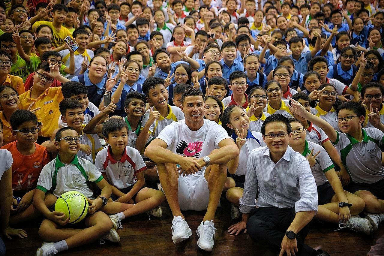 Ronaldo jadi perangsang, inspirasi ramai pelajar