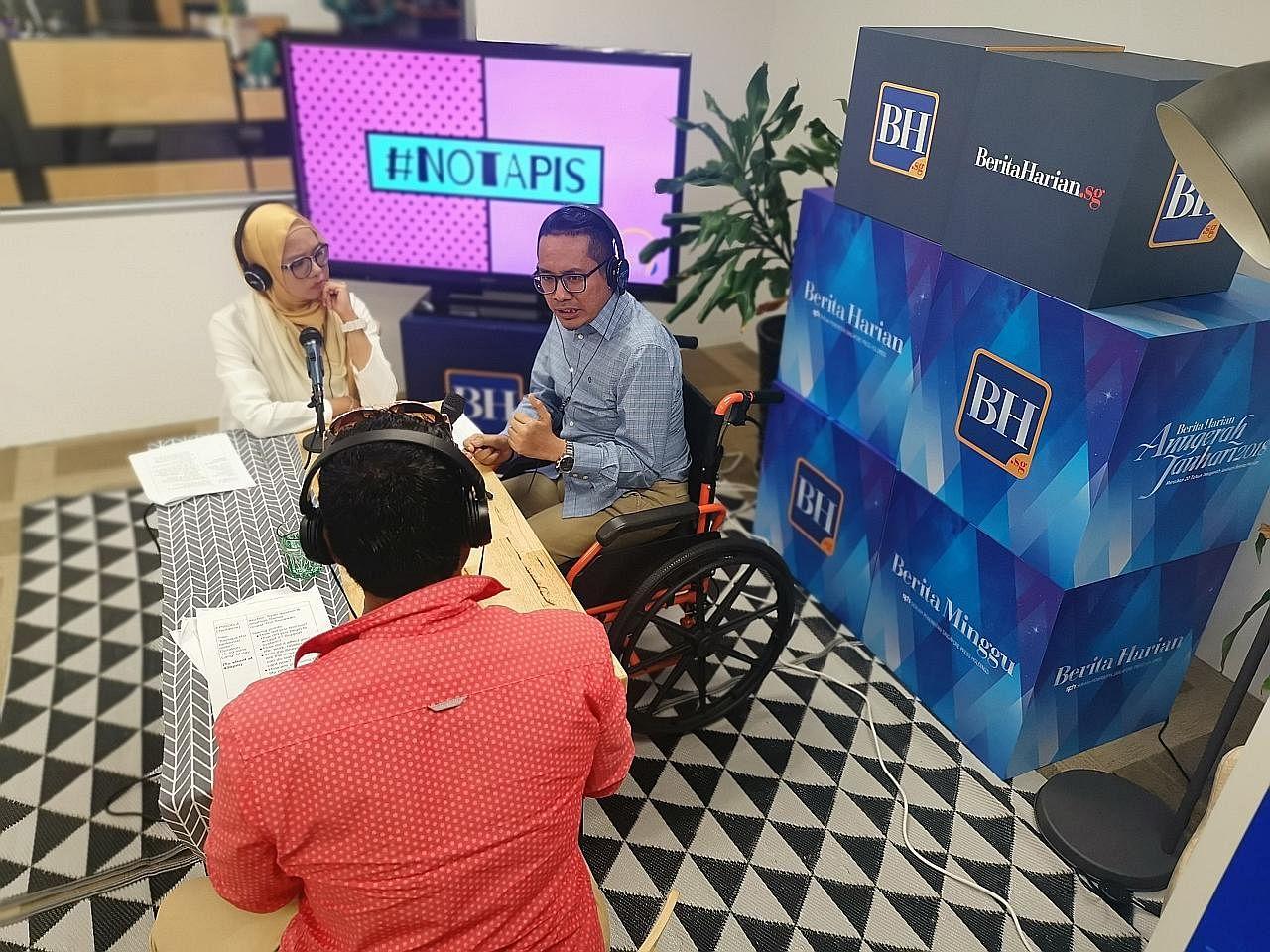 Ikuti 'podcast' #NoTapis bersama Riz, Nadiah M. Din