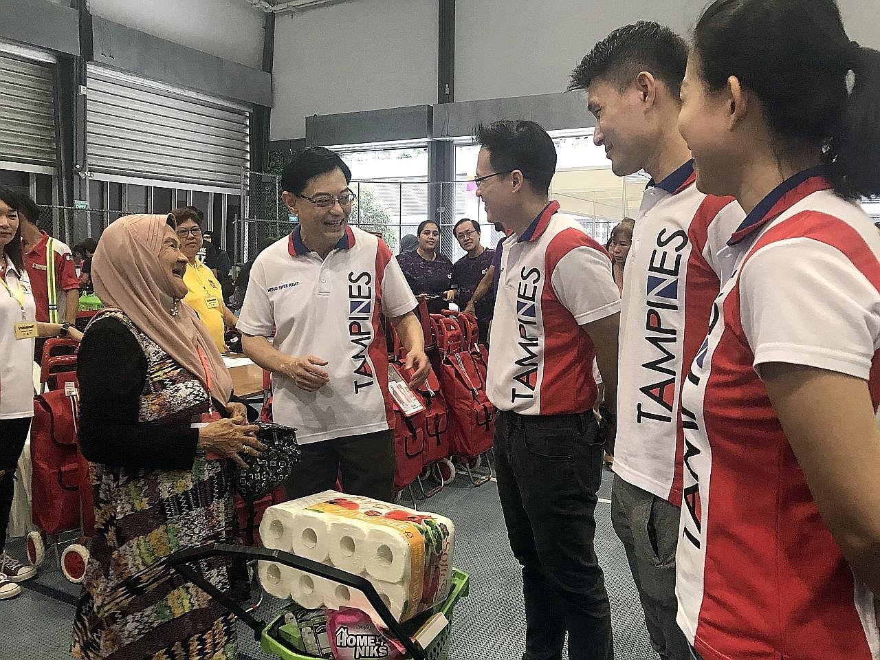 Bantuan bagi keluarga pendapatan rendah, pertengahan Tampines