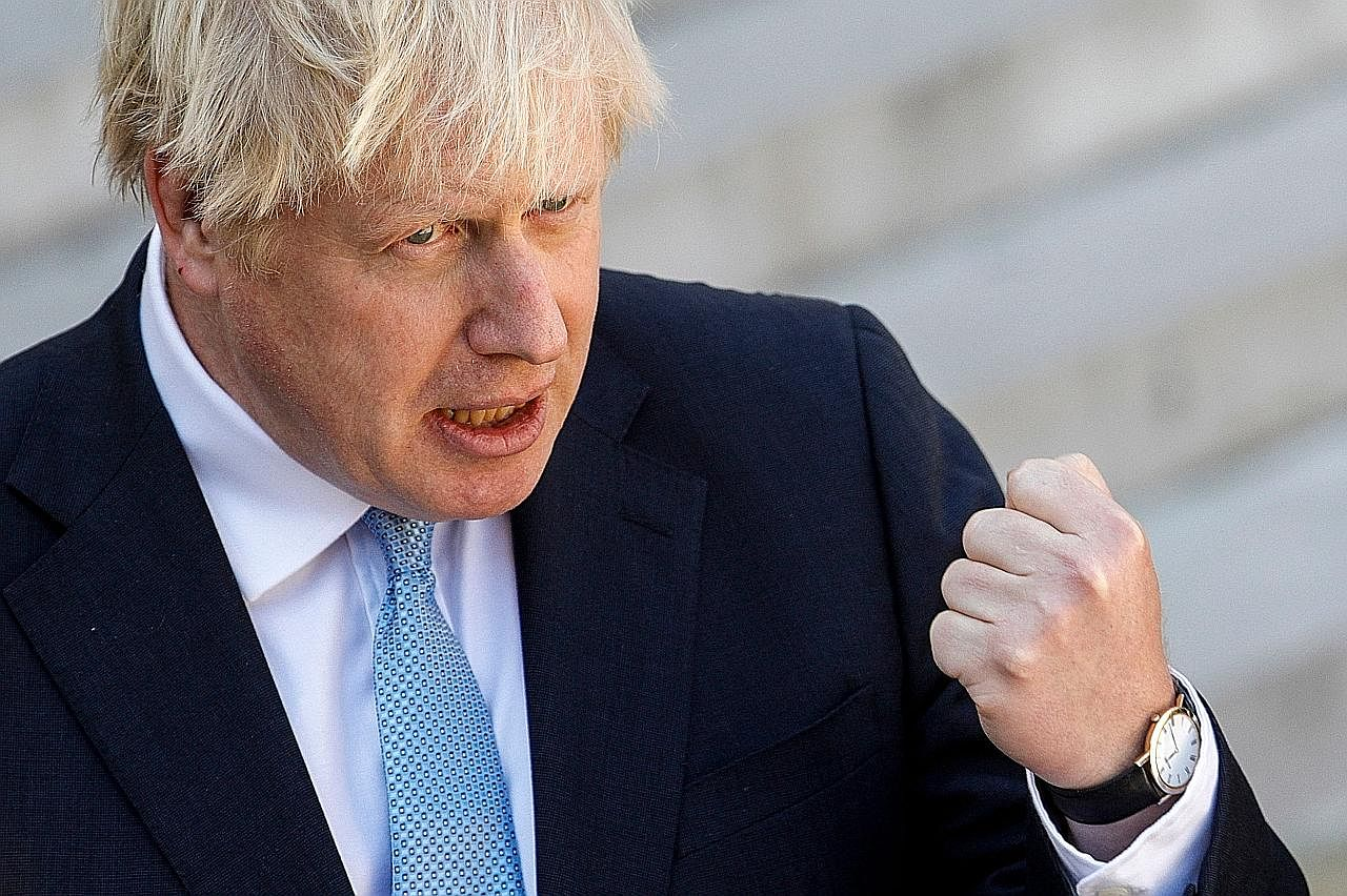 PM Johnson enggan tangguh Brexit