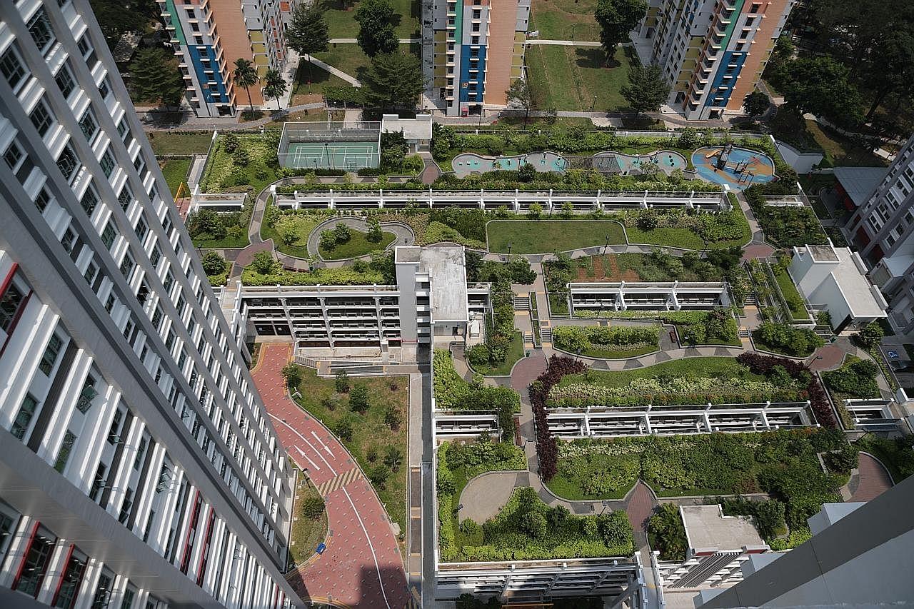 'Taman bertingkat' mercu tanda Bukit Merah
