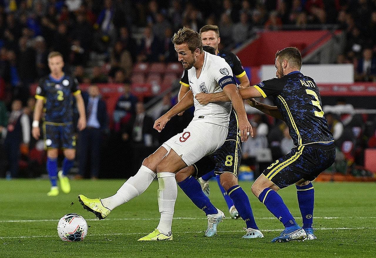 England teruskan rekod tanpa kalah dengan menewaskan Kosovo