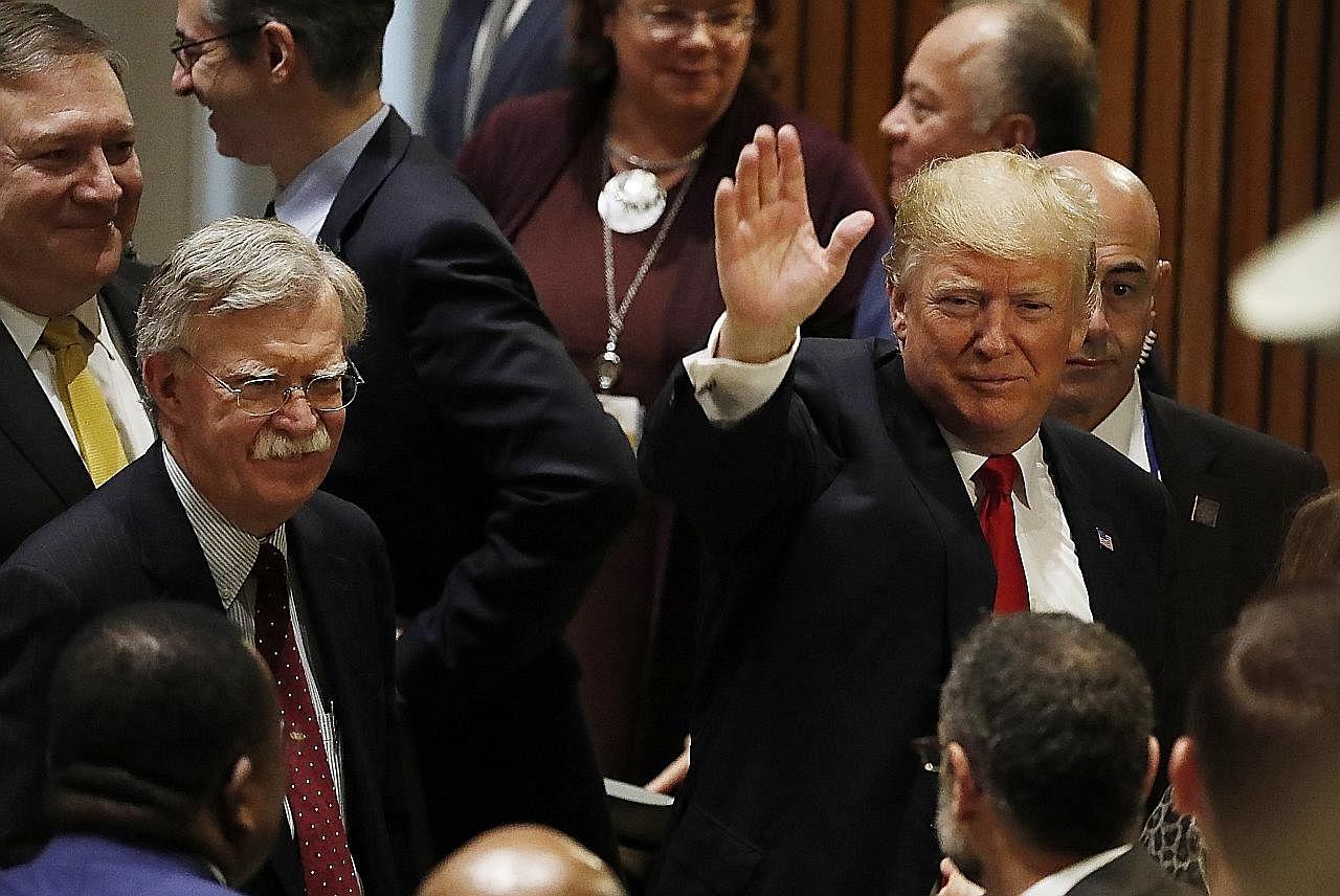Trump pecat penasihat keselamatan, selisih faham berkaitan dasar luar
