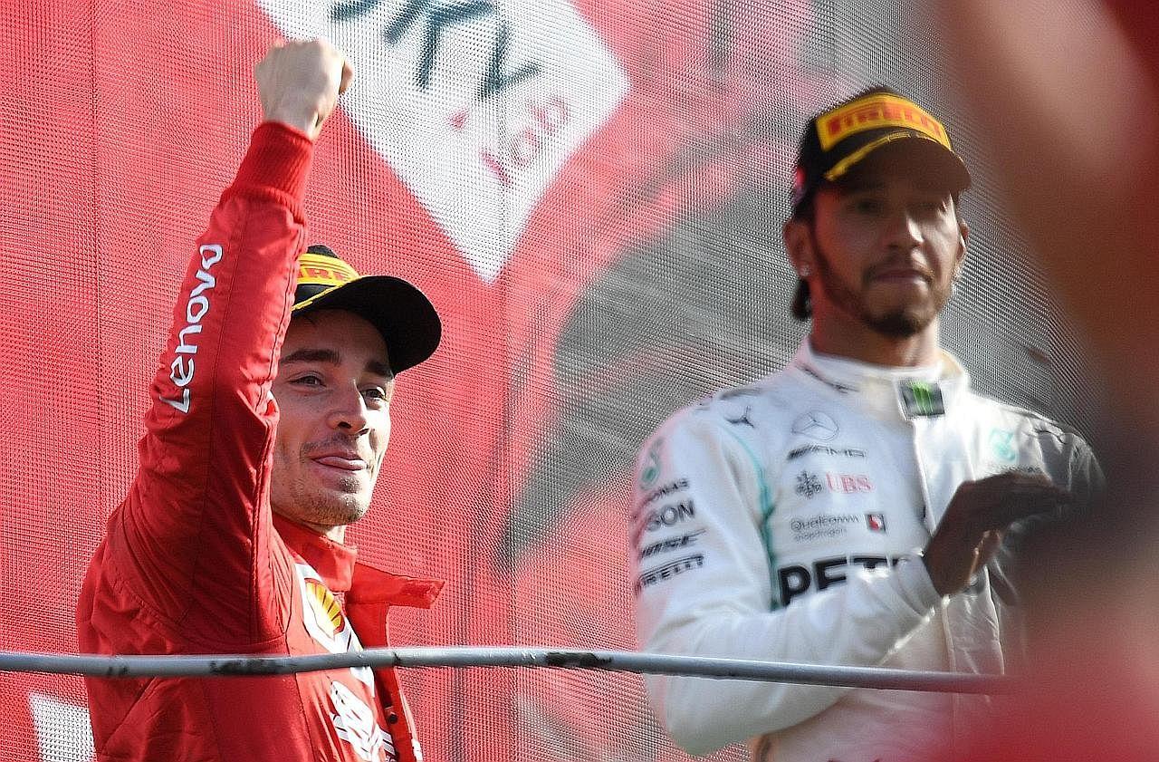 Hamilton mahu bersemuka dengan Leclerc