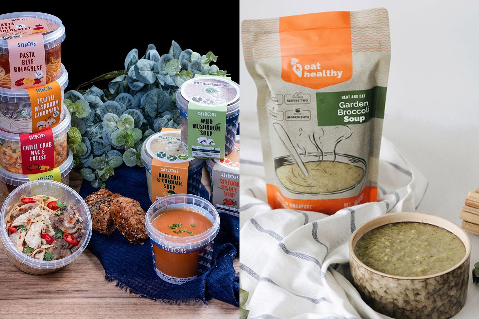 Kian banyak pilihan sup halal di pasaran